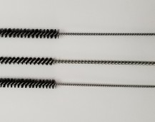 BLACK BRISTLE TUBE BRUSHES