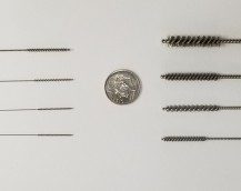STANDARD AND METRIC MICRO MINIATURE DEBURRING BRUSHES.