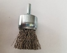 SOLID END WIRE BRUSH CARBON STEEL