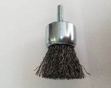 SOLID END WIRE BRUSH STAINLESS STEEL